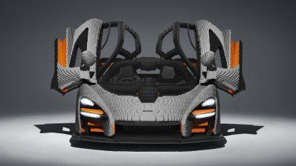 Deze Lego-sportwagen is met een half miljoen bouwsteentjes zwaarder dan het origineel