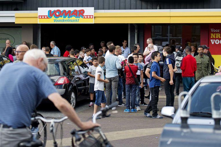 Archiefbeeld van de Vomar supermarkt in Zaandam.