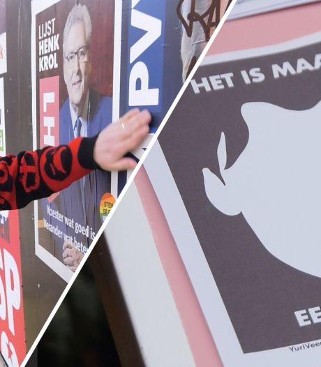 Slechte verkiezingsposters: 'Hier gaan m'n haren overeind van staan'