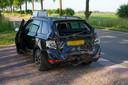 Ongeval vrachtwagen en auto in Megen.