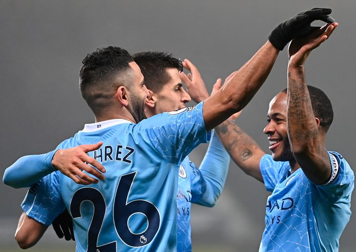 Manchester City had geen kind aan West Bromwich Albion.