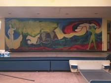 Muurschildering van 10 bij 3 meter krijgt tweede leven in Meppel: 'Moet heel precies'