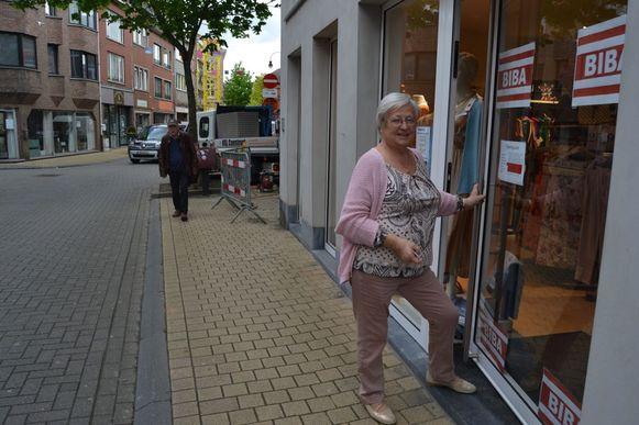 Maria Verschaeren van kledingwinkel Biba