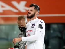 Fracture de la cheville: Anderlecht et les Diables perdent Elias Cobbaut