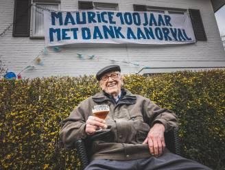 """Maurice wordt honderd en is kerngezond: """"Met dank aan Orval en goeie buren"""""""