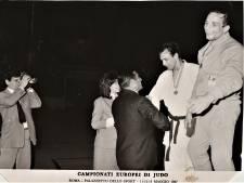 In de schaduw van Anton Geesink en Wim Ruska judoot Helmondse Eddie naar een zilveren medaille op het EK in Rome