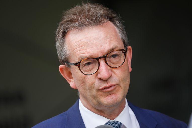 Lieven Boeve, topman van Katholiek Onderwijs Vlaanderen. Beeld BELGA