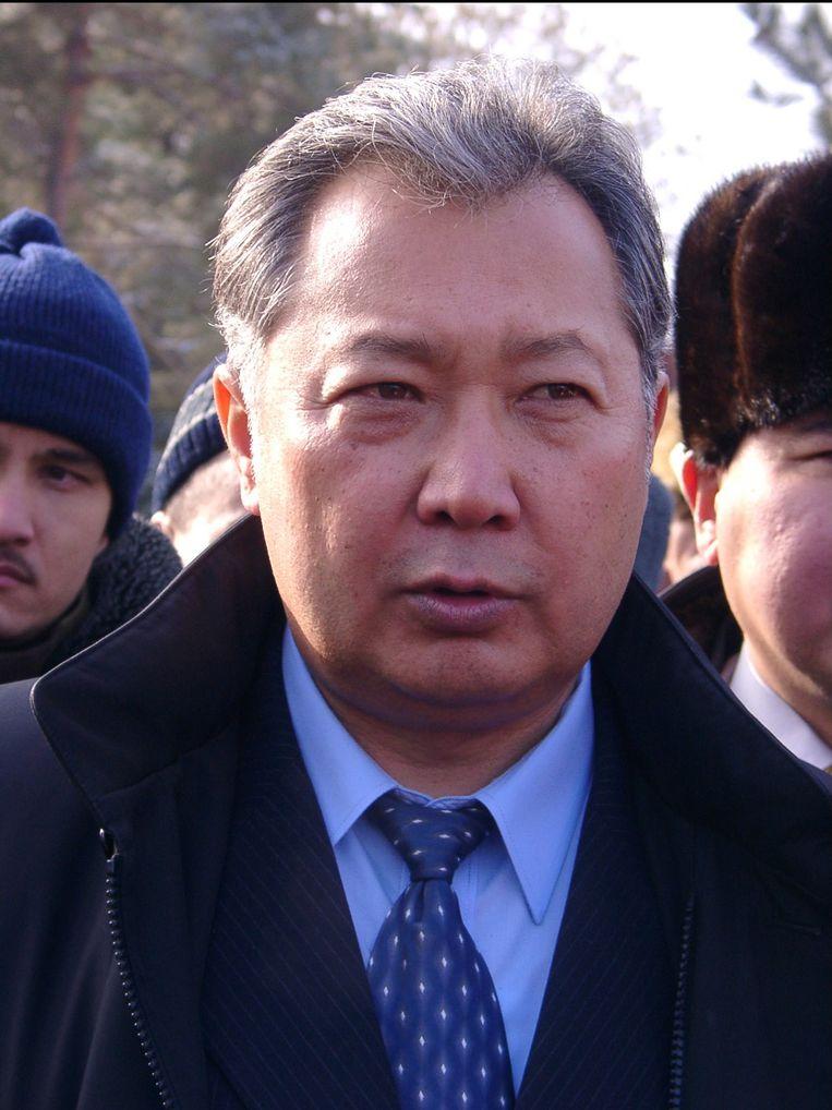 De afgezette president van Kirgizië, Koemanbek Bakijev. Beeld UNKNOWN