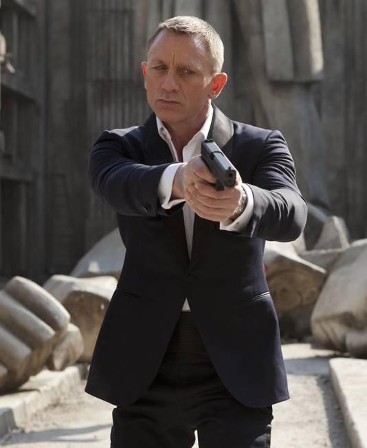 Daniel Craig, le dernier James Bond en date