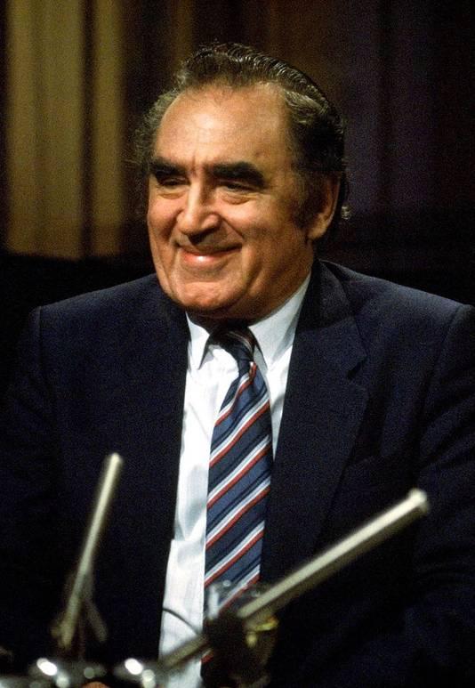 Vader Johan Maasbach in 1984