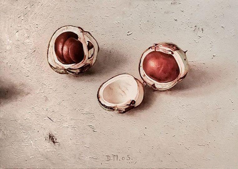Dennis Mogelgaard - Twee Kastanjes II (2005), Galerie Lieve Hemel  Beeld BEELD GALLERY VIEWER