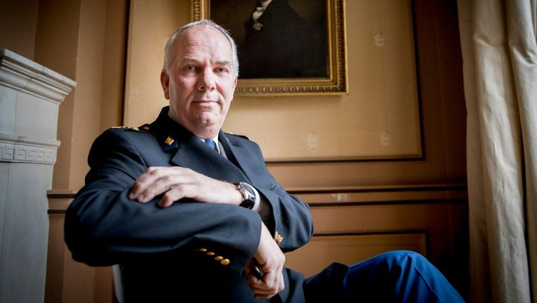 Pieter-Jaap Aalbersberg is binnen de politie verantwoordelijk voor het thema personen met verward gedrag. Beeld anp