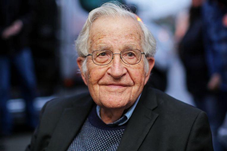 Noam Chomsky Beeld AFP