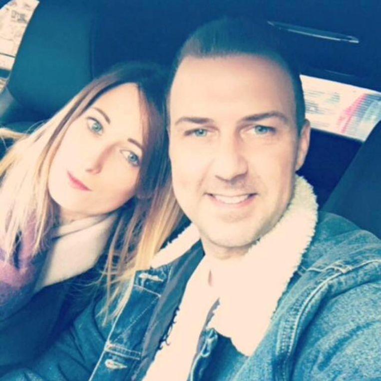 Natalie en Lee Davies.