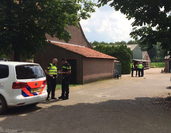 In 2017 werd op een boerenbedrijf in Liessel een drugslab ontdekt.