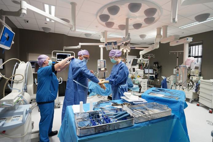 Een operatiekamer in het St Jansdal in Harderwijk.