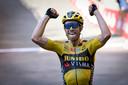 Wout van Aert won vorig jaar de Strade Bianche.