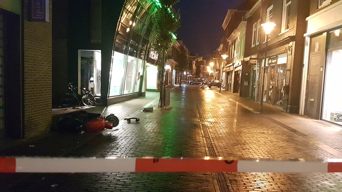 Twee van de vluchters per scooter zijn snel gepakt.