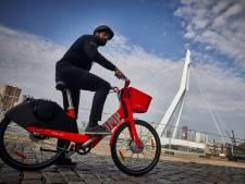 Jump-fiets van straat gehaald, Felyx wordt ook bezorgscooter