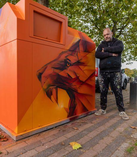 Containerkunst rukt op in Den Bosch, tot blijdschap van de buurt