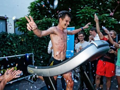 Niemand holde ooit sneller een marathon op de loopband