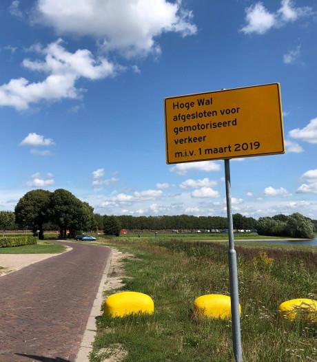Wegen dicht voor tijdelijke camping van Fontys bij de Walhoeve
