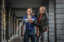 Remco Evenepoel en Tom Boonen.