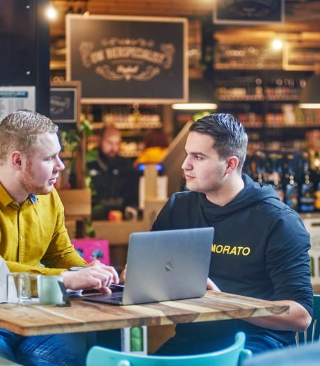 Noordkade lekkere proeftuin voor Leijgraaf-studenten; hoe zou bier met kaas smaken?