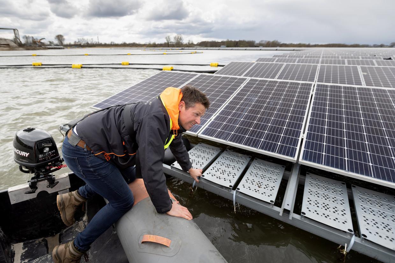 Willem Biesheuvel: 'Een zonnepark verstoort alles, is de aanname al snel, maar het kan ook een pleisterplaats voor vogels worden'.