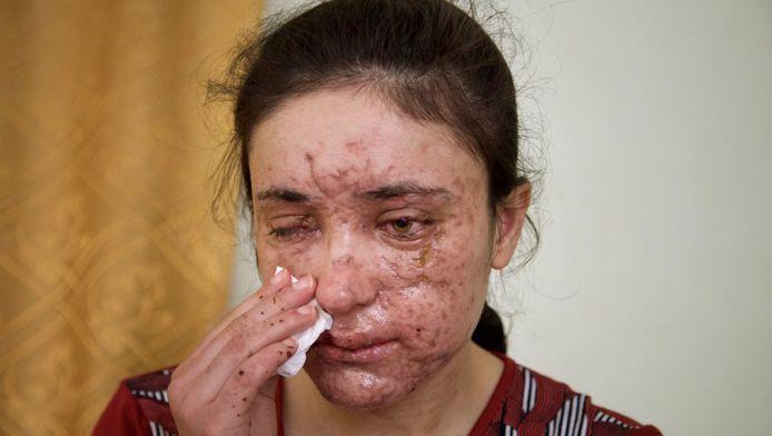 Lamiya est devenue le nouveau visage de la lutte contre l'esclavage sexuel des Yézidies.