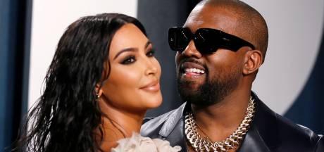 Kim Kardashian met kinderen naar releasefeestje van ex Kanye West