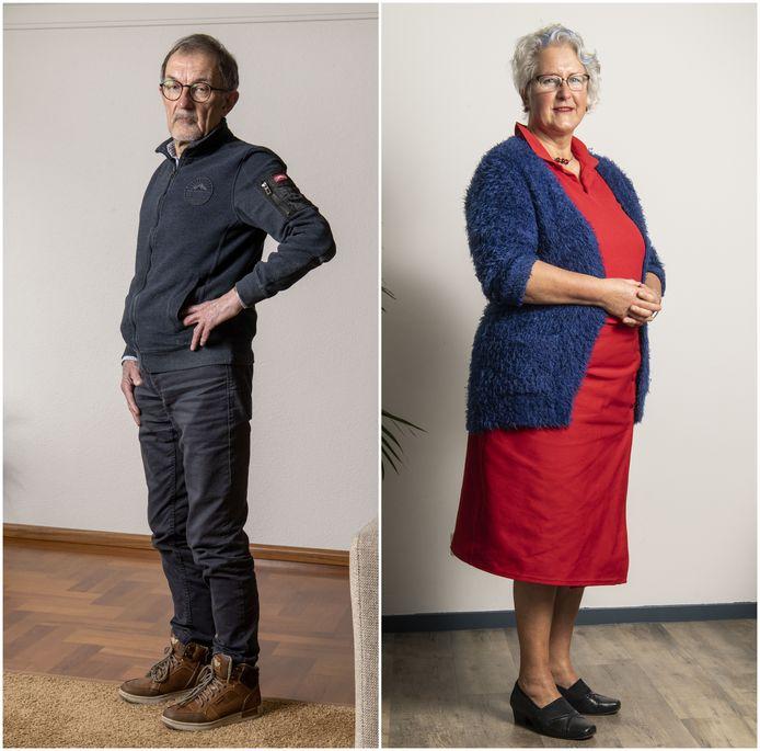 Jan en Henriët hebben allebei een prothese