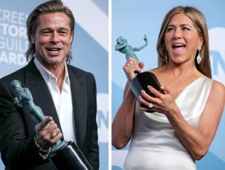 """Jennifer Aniston is nog steeds goed bevriend met haar ex Brad Pitt: """"Het voelt absoluut niet vreemd"""""""