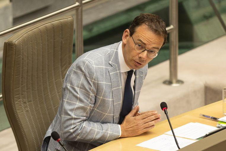 Vlaams minister van Volksgezondheid Wouter Beke (CD&V) Beeld BELGA
