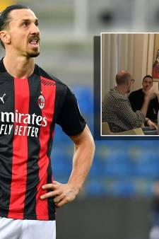 Weer ophef rond Zlatan Ibrahimovic na foto's in restaurant