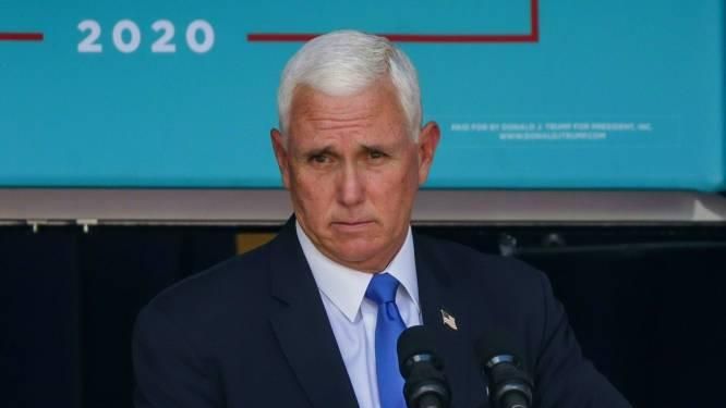 Mike Pence gaat wel naar inauguratie Biden