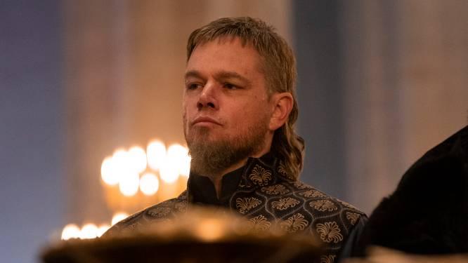 Twee sterren voor epos The Last Duel: Matt Damon heeft een andere kapper nodig