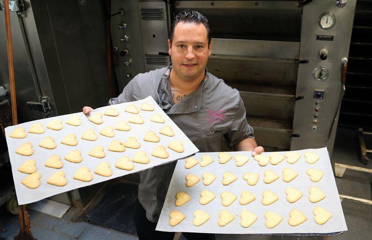 Geelse Hartjes van bakker Jeroen Verlooy.