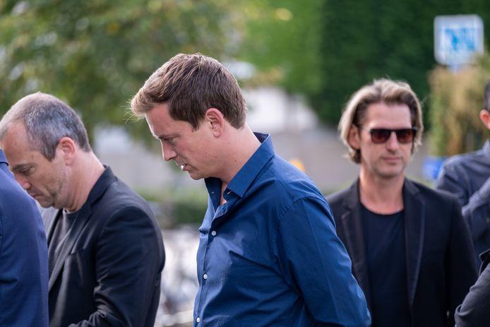 Ook Niels De Stadsbader, Miguel Wiels en Gene Thomas waren aanwezig.