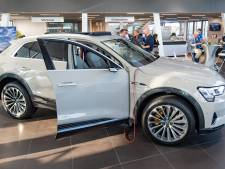 Allereerste elektrische Audi voor één dag in Hengelo