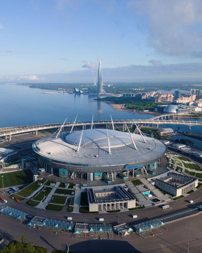 Le Kretovsky Stadium avait accueilli les Diables à deux reprises lors de la dernière Coupe du monde.