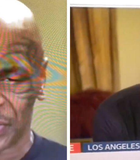 """Mike Tyson s'endort en plein milieu d'une interview: """"J'ai essayé de rester éveillé tard"""""""