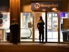 Overvallers Hoogvliet Boskoop zetten medewerker mes op de keel: 'Als jullie meewerken, doen we niks'