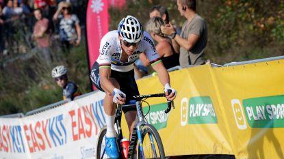 SUPERPRESTIGE LIVE. Van der Poel kletst in vierde ronde iedereen uit het wiel. Sweeck verliest plots zijn zadel!