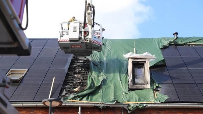 Weer brand op dak bij zelfde rijtjeshuis in Delft
