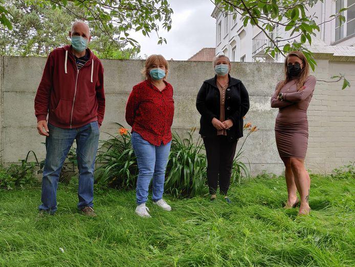 Armoedevereniging Wieder is begaan met het lot van de bewoners van het rampgebied.