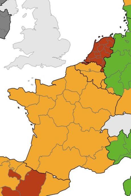 L'ECDC corrige son erreur et fait passer Bruxelles en orange