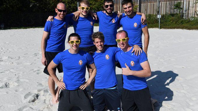 Deelnemers BK dodgeball leven zich uit