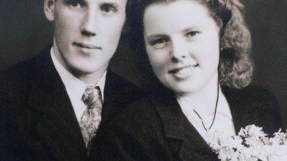 Fons en Maria stapten 70 jaar geleden in het huwelijksbootje