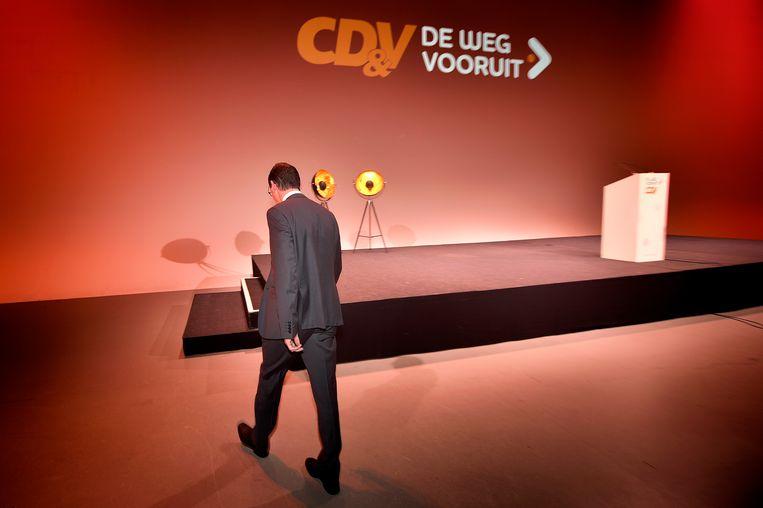 Wouter Beke (CD&V) is wellicht geen kandidaat om zichzelf op te volgen. Beeld BELGA